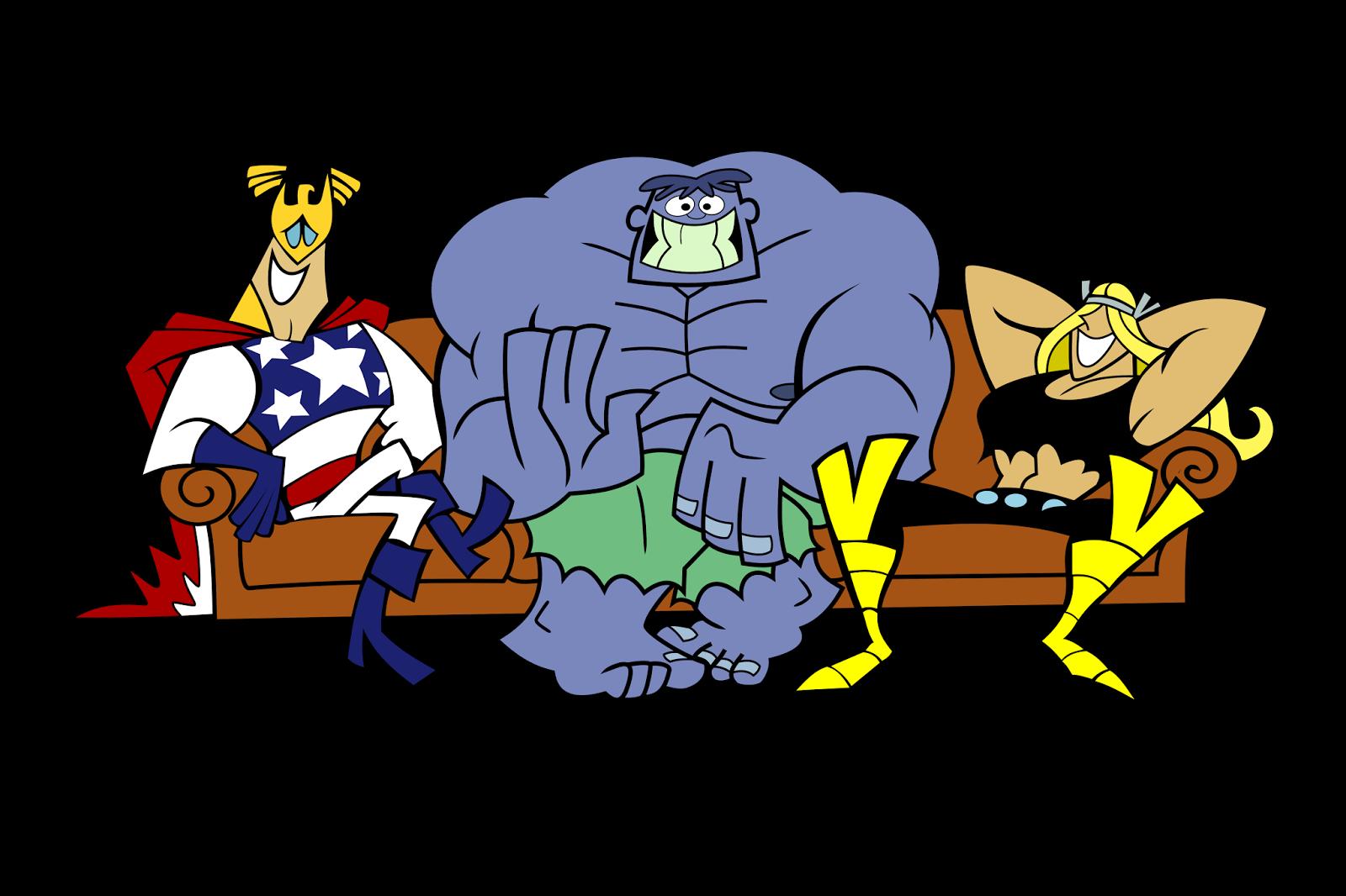 Couch clipart friend. Dexters lab matlabcambodia com
