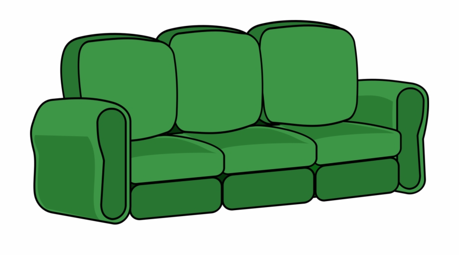 Couch clipart green couch. Sofa hd png