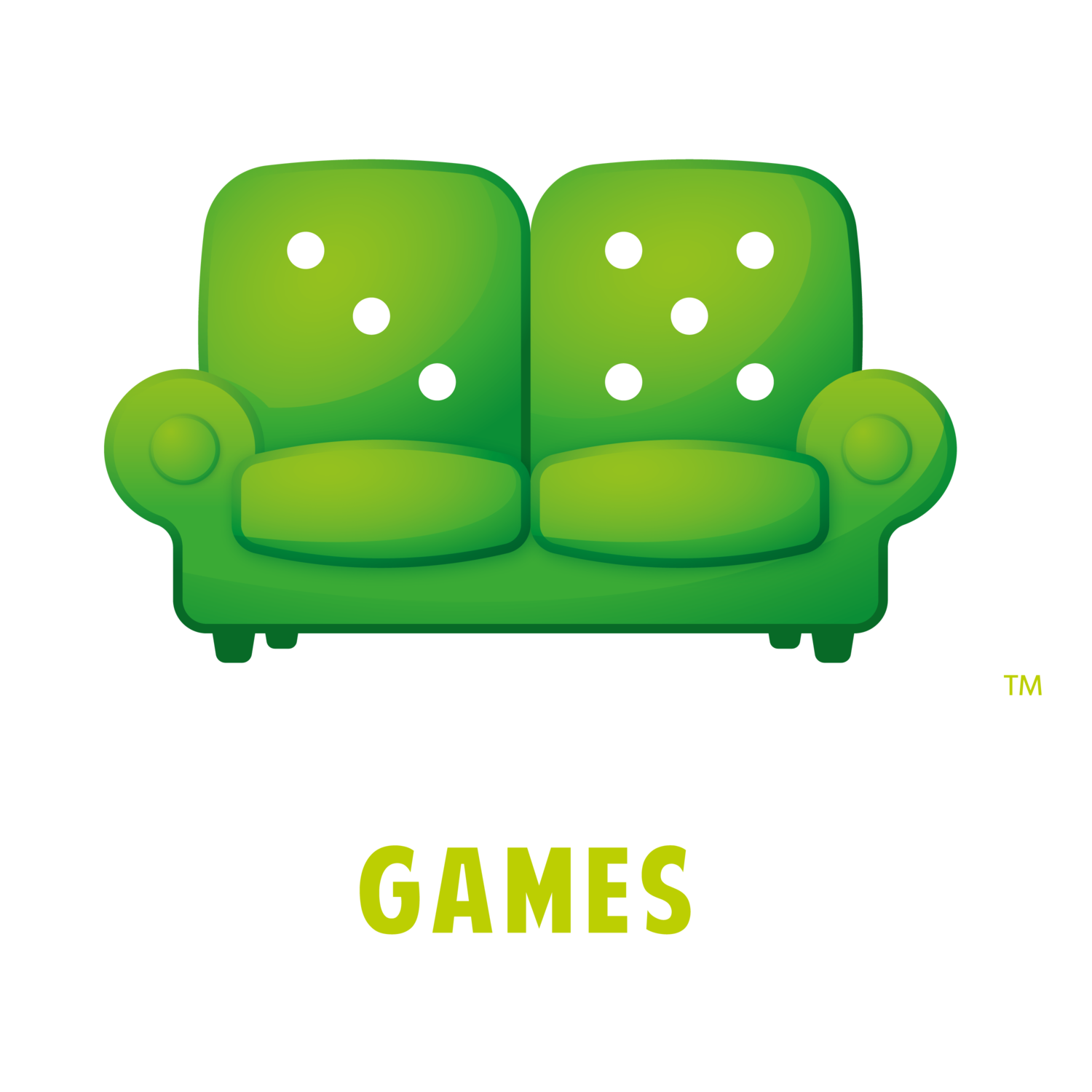 Couch clipart green couch. Games