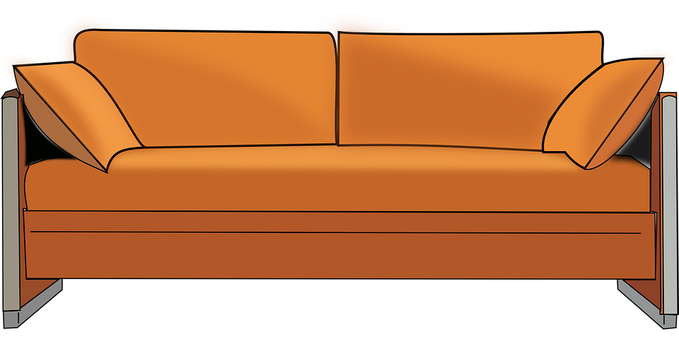 Sofa pencil and in. Couch clipart home furniture