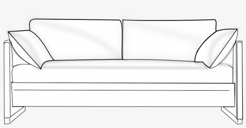 Couch clipart home furniture. Free transparent png