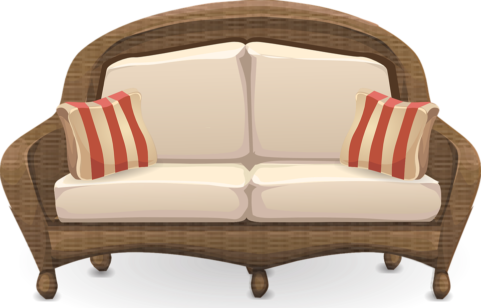 Tattys thingies appliances feel. Couch clipart house furniture