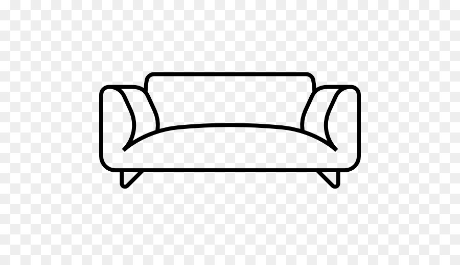 Cartoon chair transparent . Couch clipart house furniture