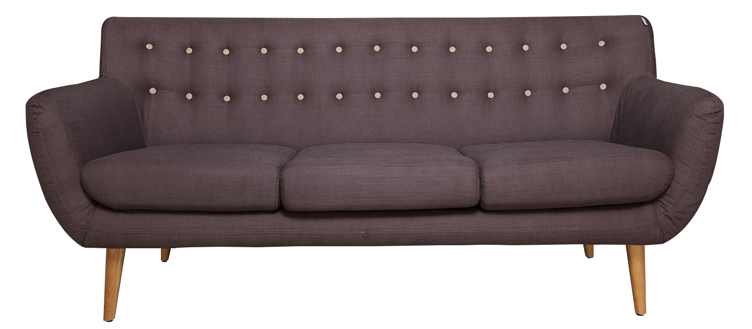 Sofa png image cut. Furniture clipart couch