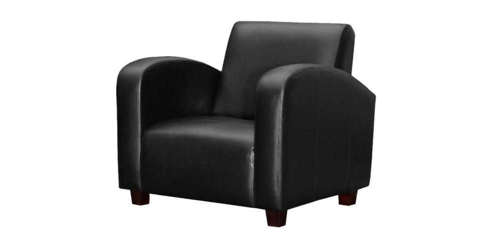 Fascinating black chair photo. Couch clipart leather sofa