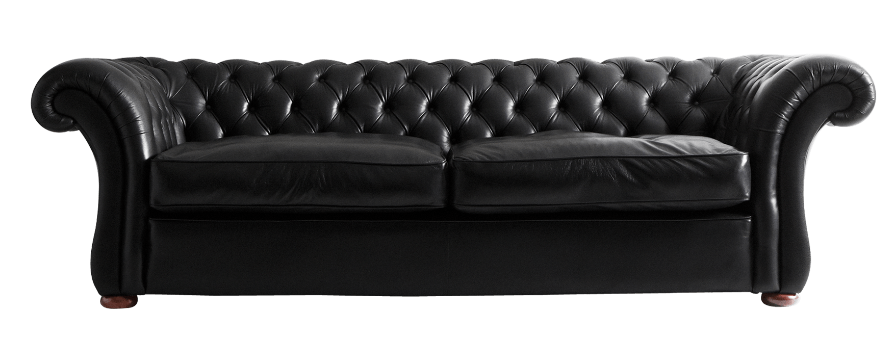 Black transparent png stickpng. Couch clipart leather sofa