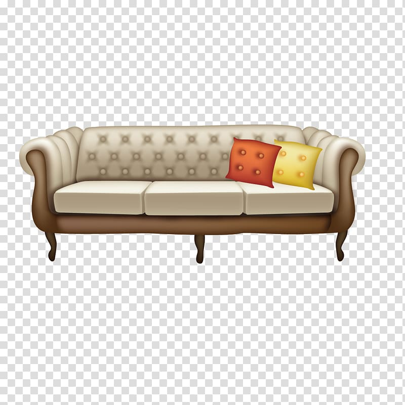 Couch clipart living room furniture. Table sofa bed european