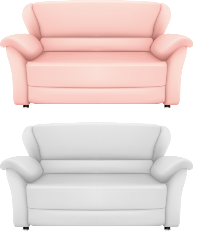 Furniture clipart comfortable chair. Couch drawing clip art
