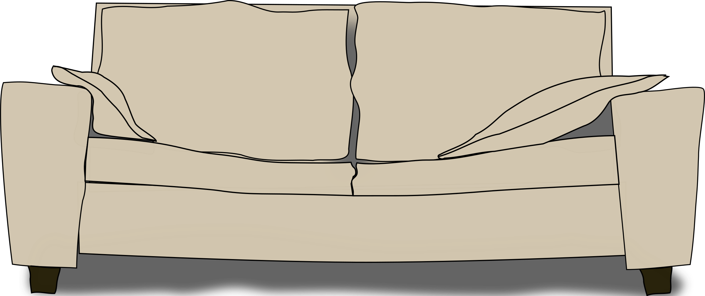 The big image png. Couch clipart old couch