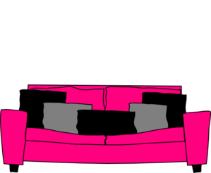 Couch clipart pink couch. Free sofa cliparts download
