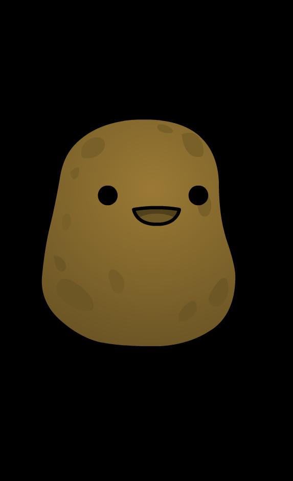 Potato. Couch clipart potatoe