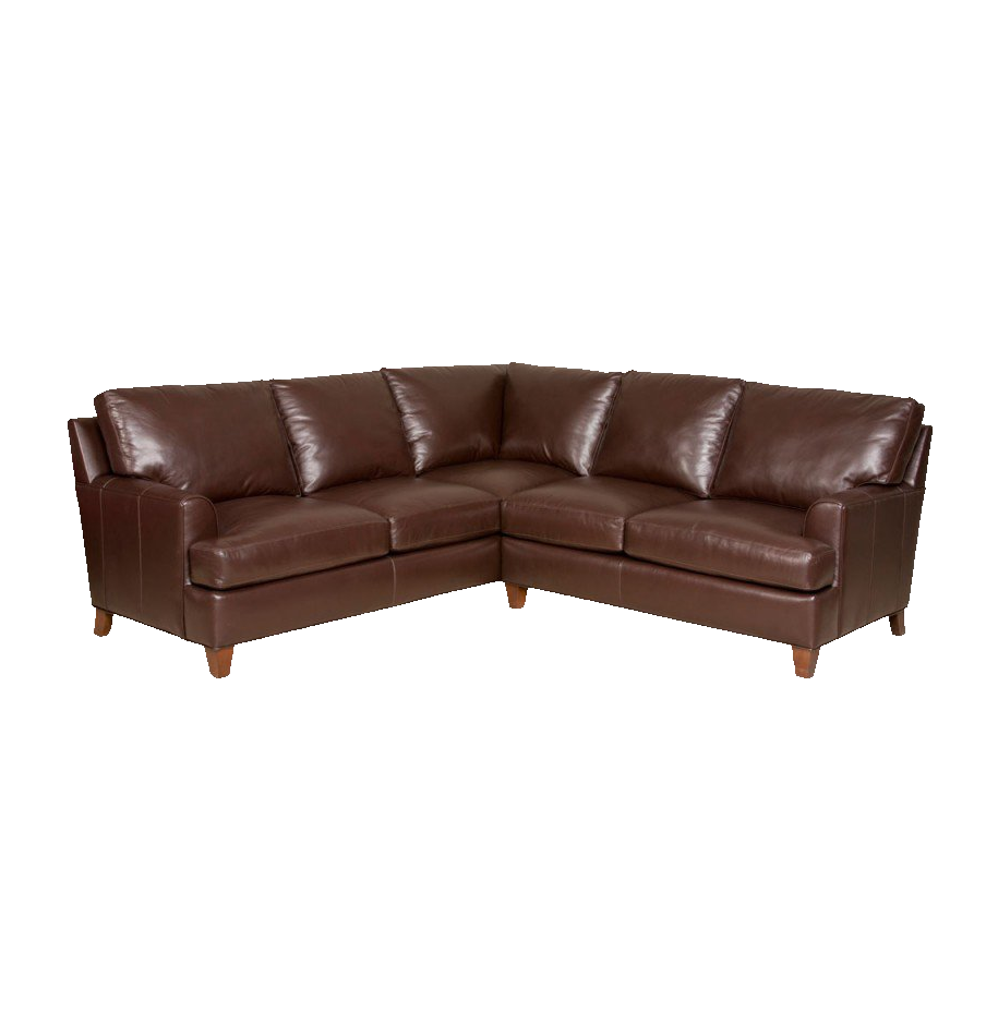 Shop leather and upholstery. Furniture clipart single couch