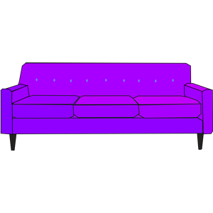 Sofa cliparts of free. Couch clipart purple couch