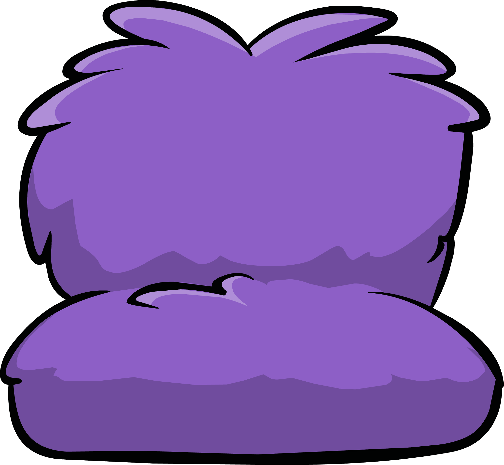Fuzzy club penguin wiki. Couch clipart purple couch