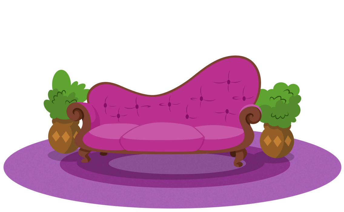 Background spa by estories. Couch clipart purple couch