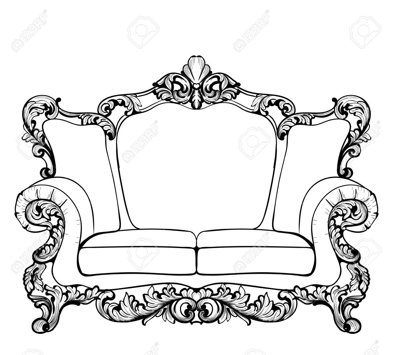 Free download clip art. Couch clipart royal