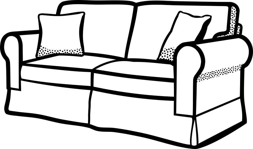 hilariously unfortunate things. Furniture clipart black and white