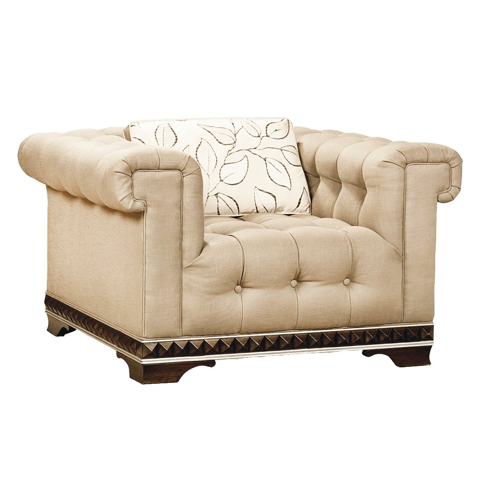 Couch clipart side view. Armchair vintage sideview transparent