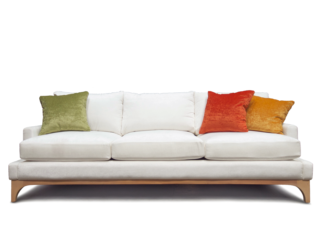 Sofa png images free. Couch clipart side view