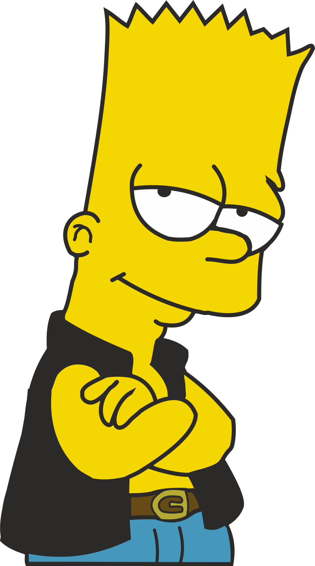 Bart simpson pinterest. Couch clipart simpsons