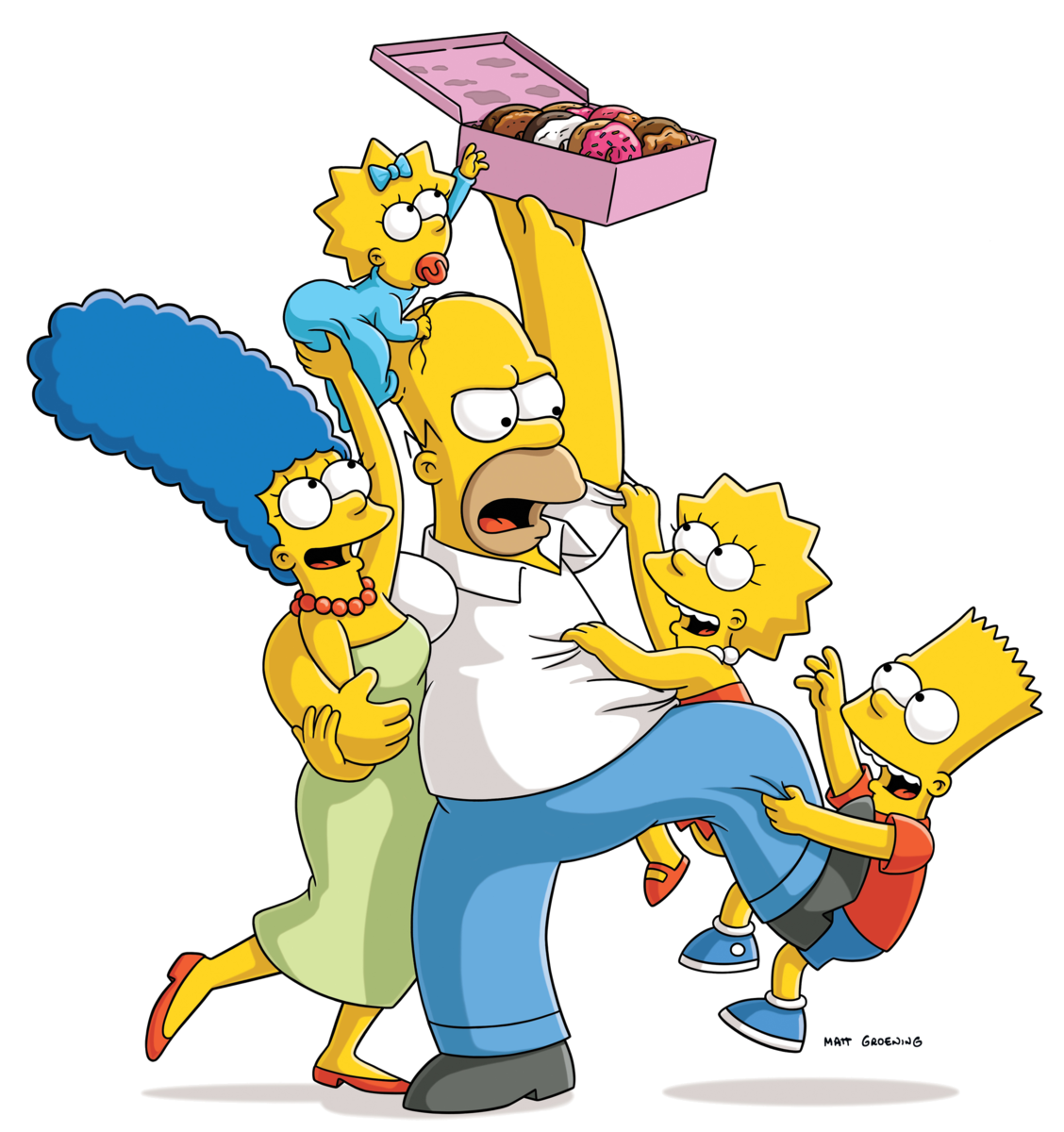 Homer simpson lisa bart. Couch clipart simpsons