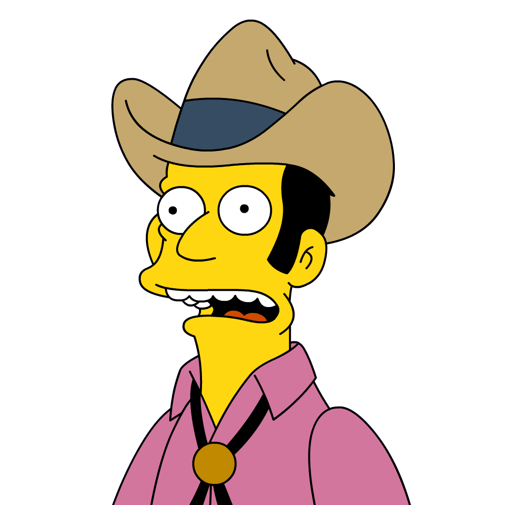 Wheel clipart cowboy. Bob simpsons wiki fandom