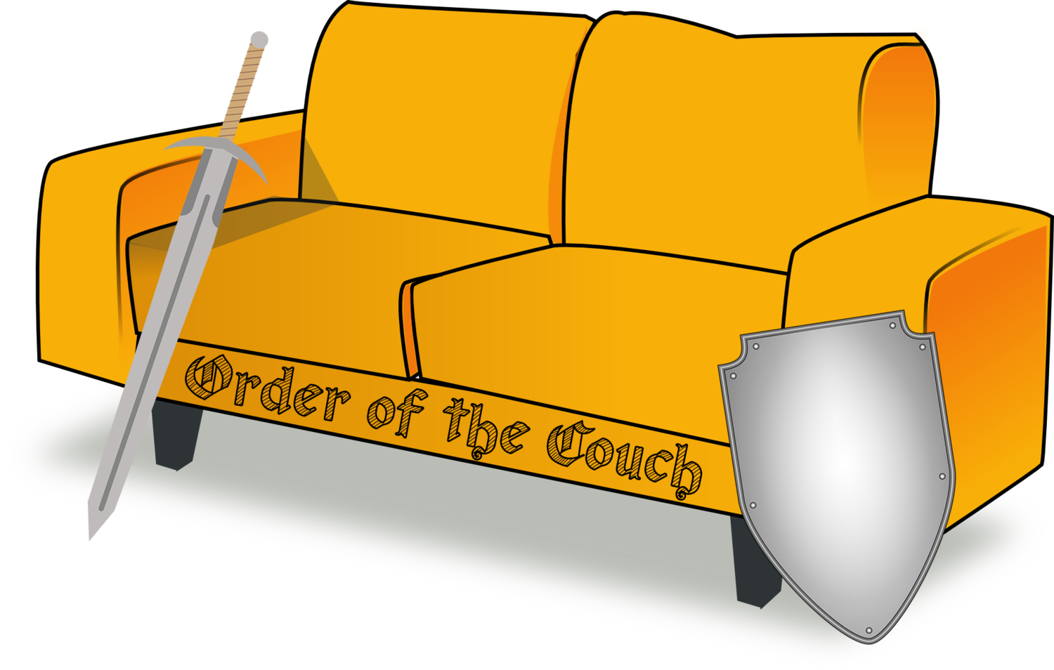 Day one park d. Couch clipart single person