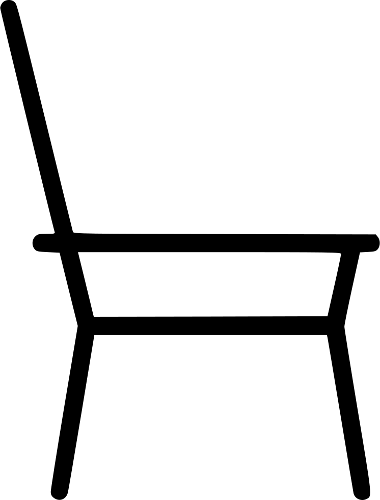 Couch clipart sketch. Chair simple furniture home