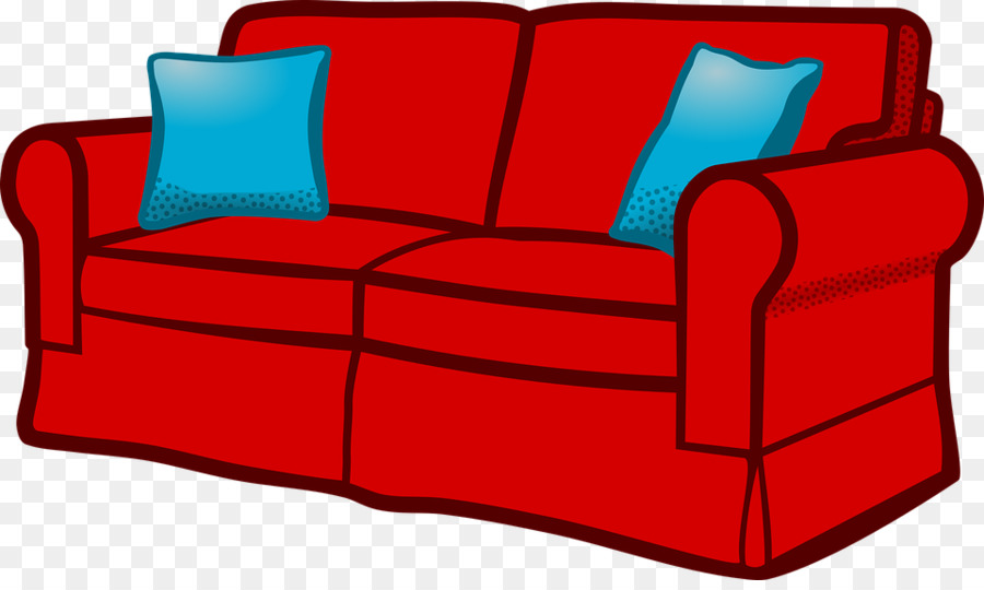 Bed cartoon table transparent. Furniture clipart couch