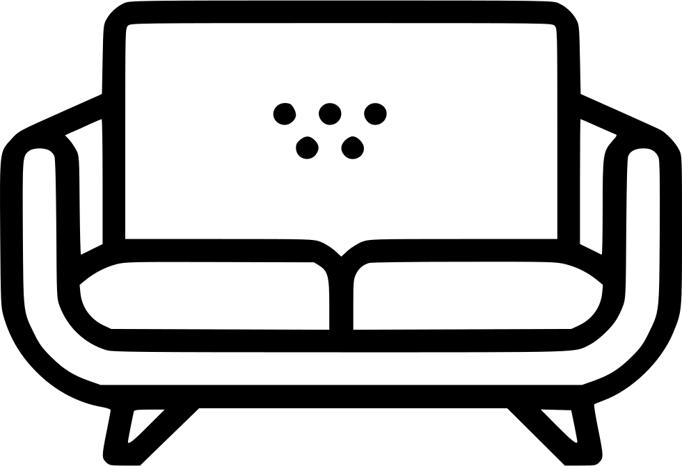 Couch clipart svg. Png icon free download