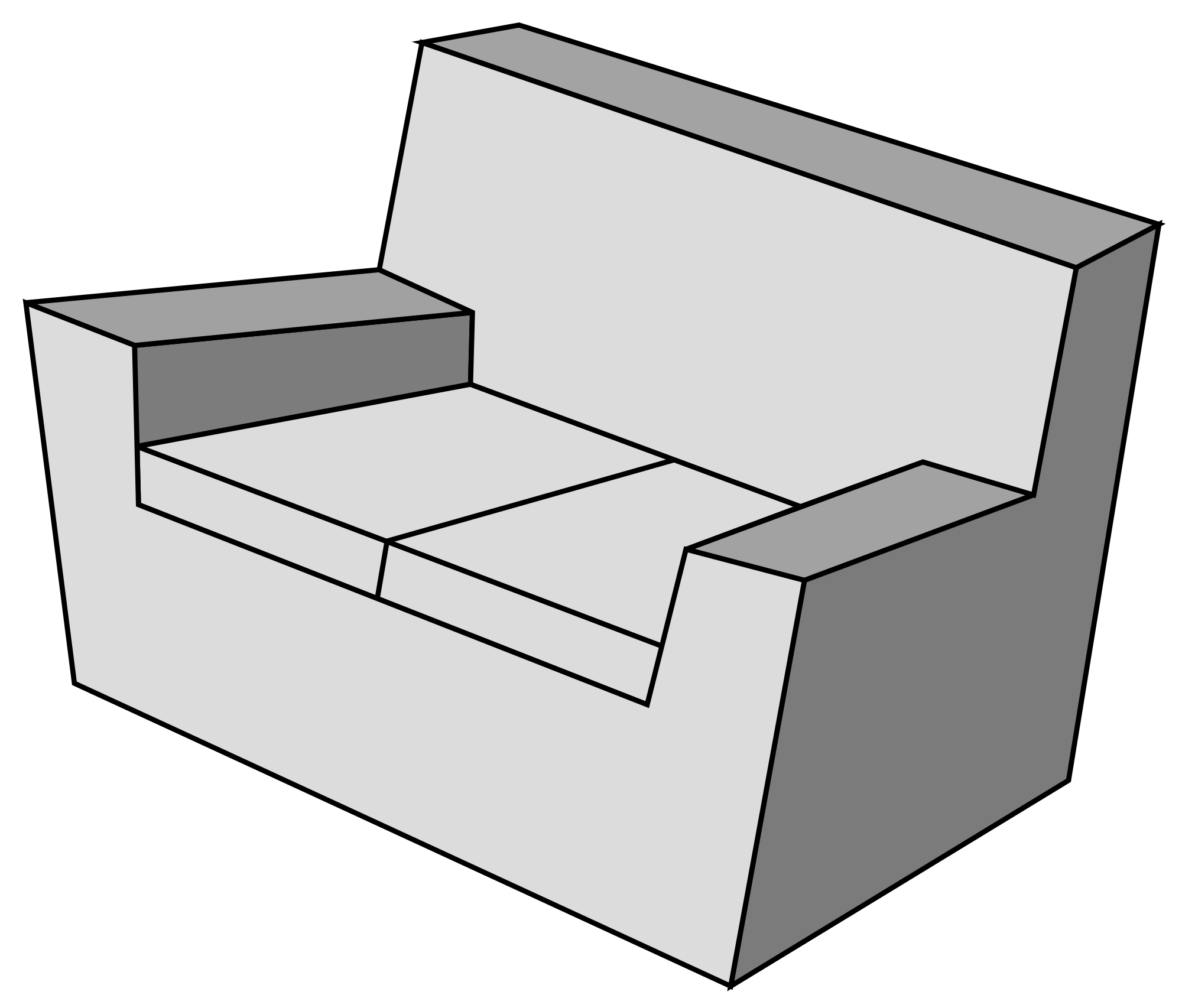 File sofa wikimedia commons. Couch clipart svg