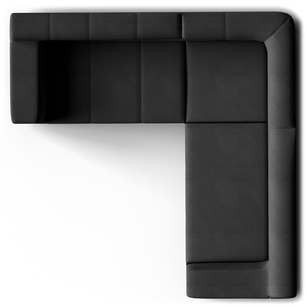 Couch clipart top view. Kramfors seat corner sofa
