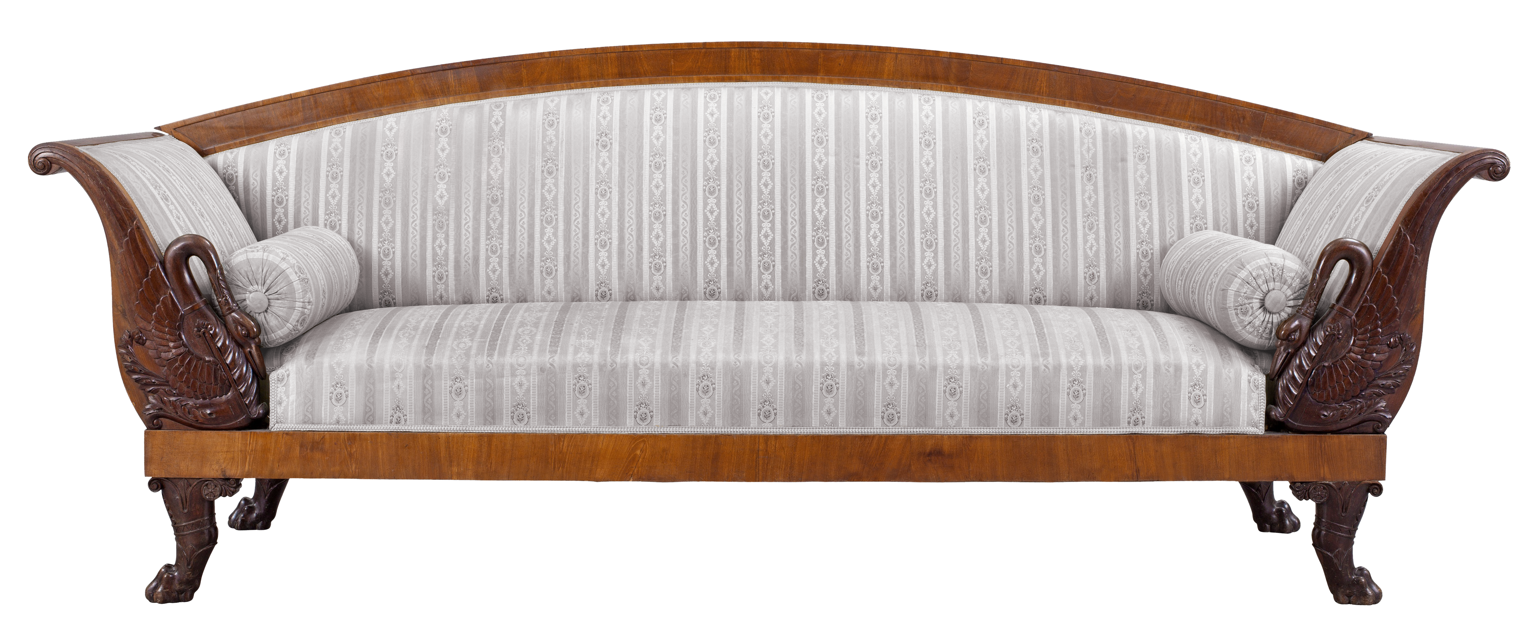 Furniture clipart farnichar. Transparent vintage couch png