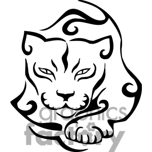 Cougar clipart. Free panda images
