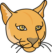 Cougar clipart. Search results for clip
