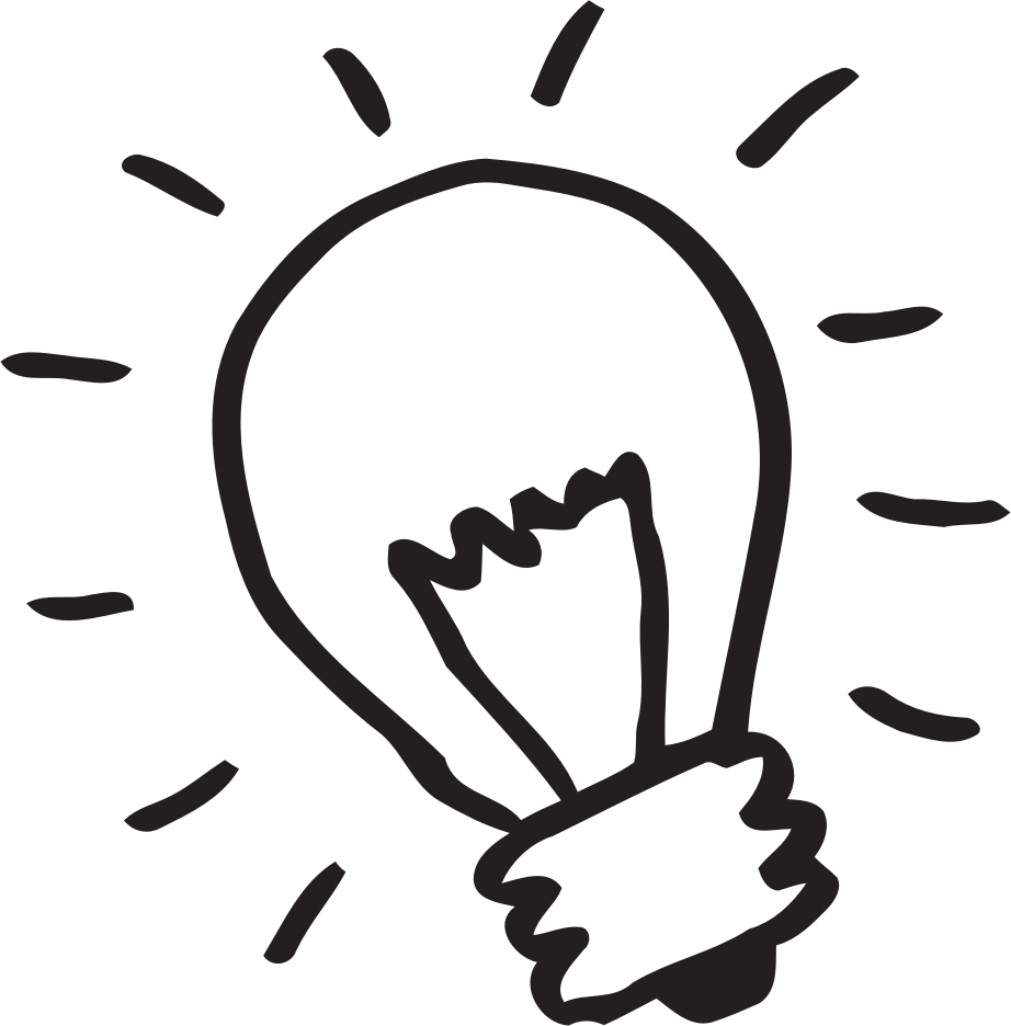 Light bulb ligth free. Lamp clipart drawing