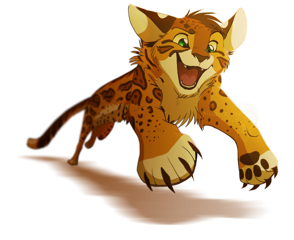 Cougar clipart animal jam. Gotcha by nightrizer animated