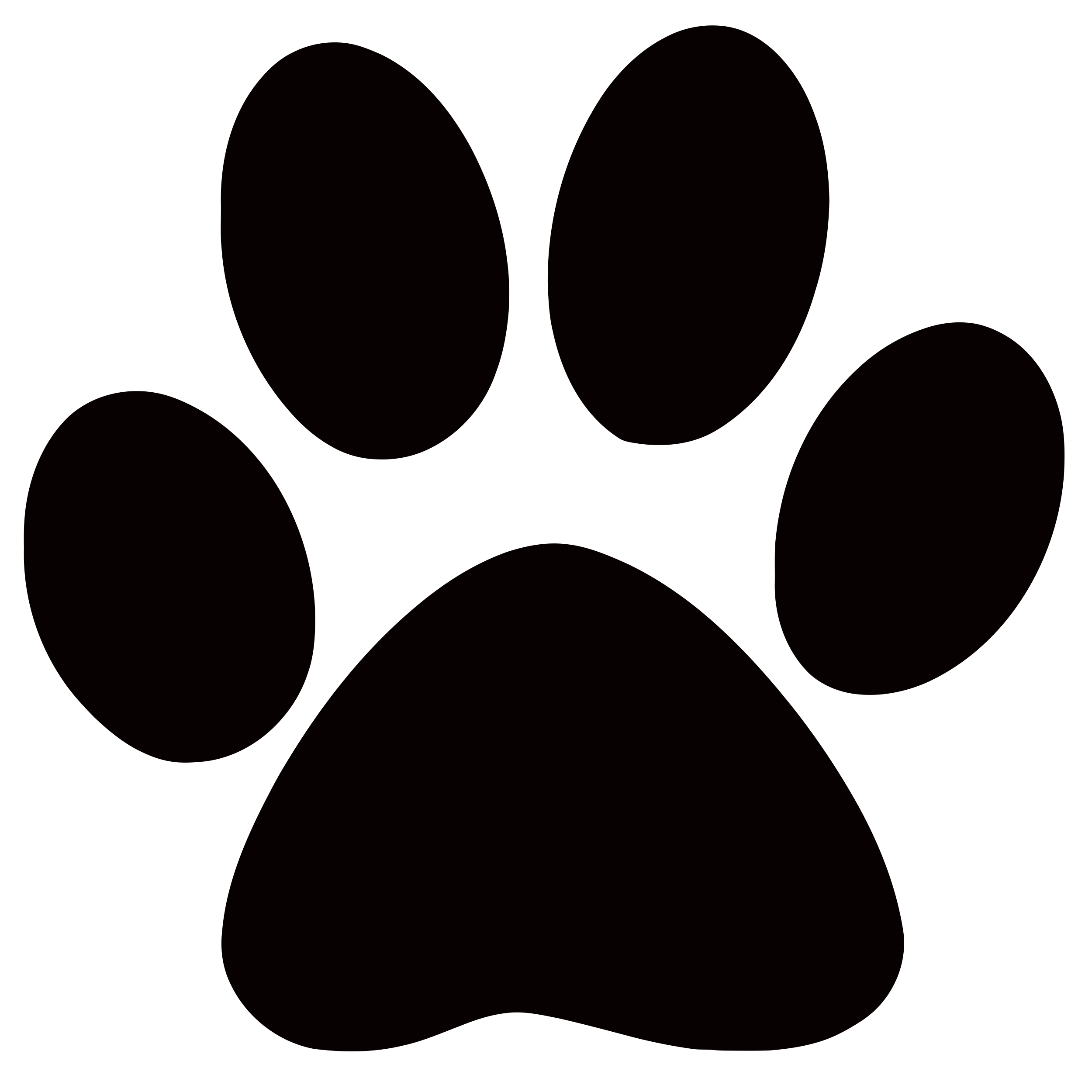 collection of cougar. Footsteps clipart black and white