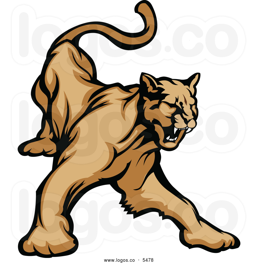 Collection of free download. Cougar clipart cool