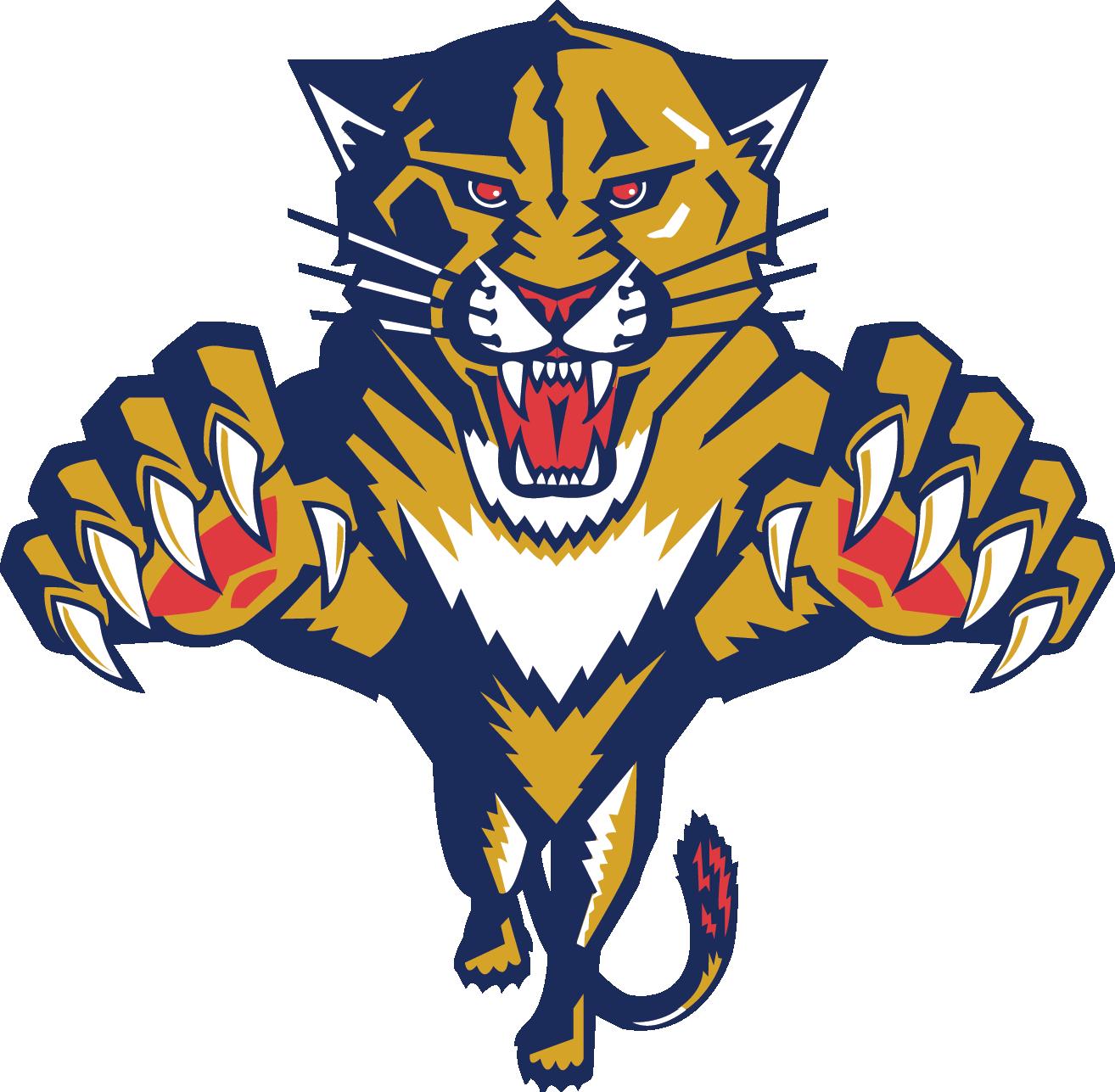 Panther logo free large. Florida clipart big