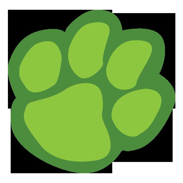 Bobcat print free download. Paws clipart lion's paw