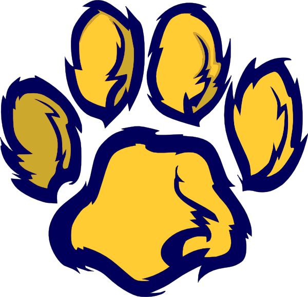 Wildcat clipart file. Paw clip art at
