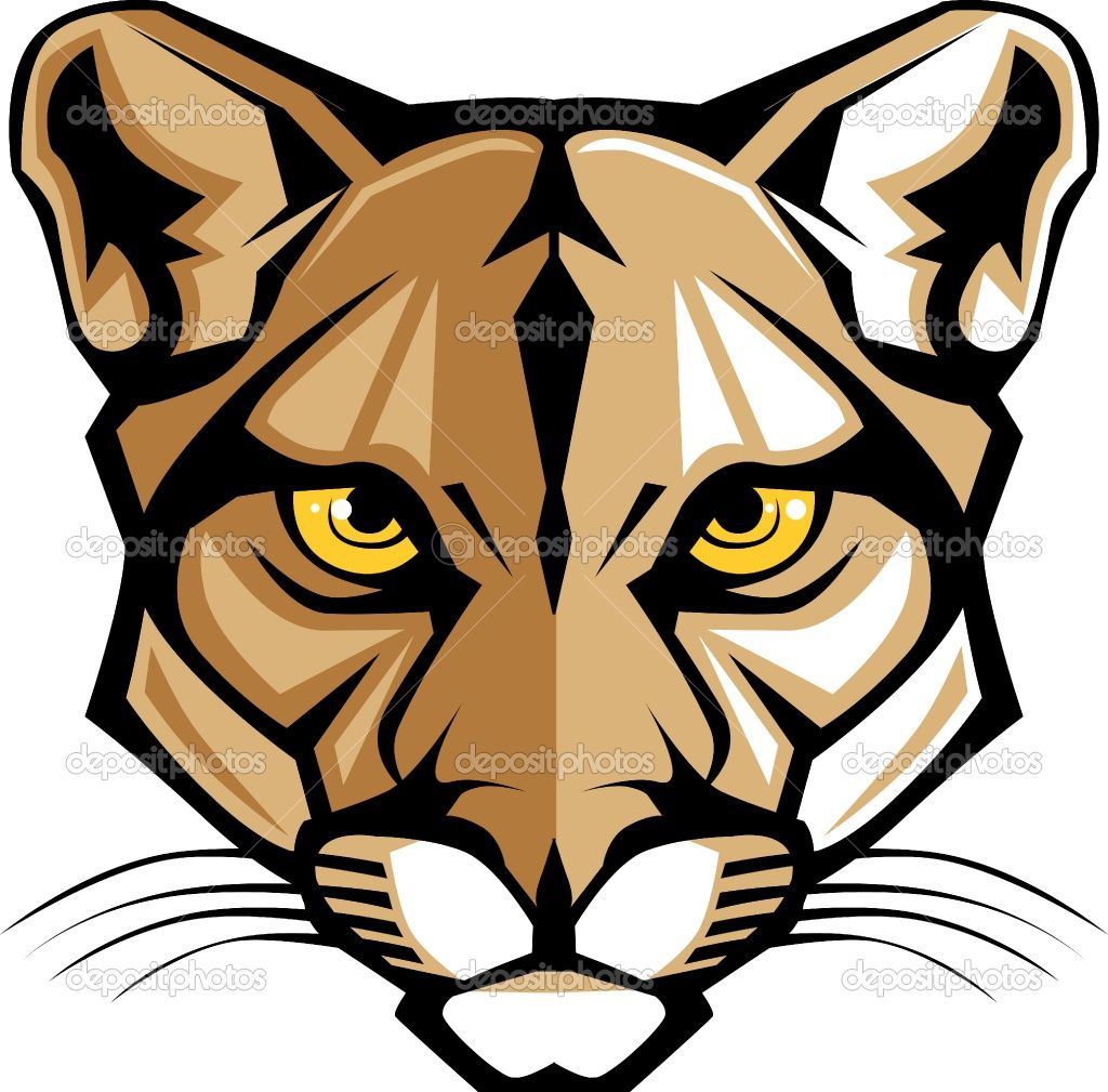 Cougar clipart high quality. Pin on my style