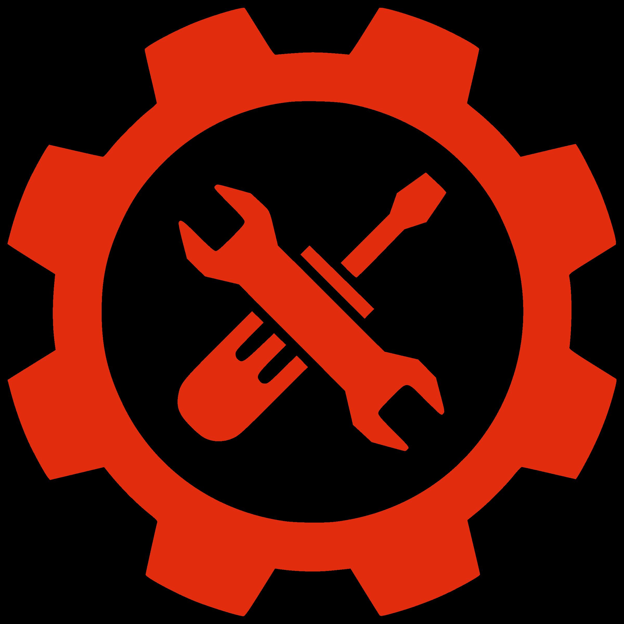 Gear clipart clock. Tools by ben an