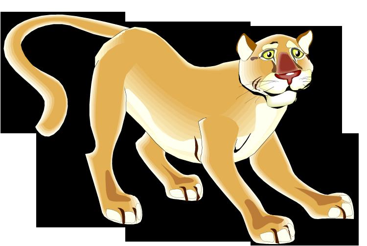 Free . Cougar clipart puma animal