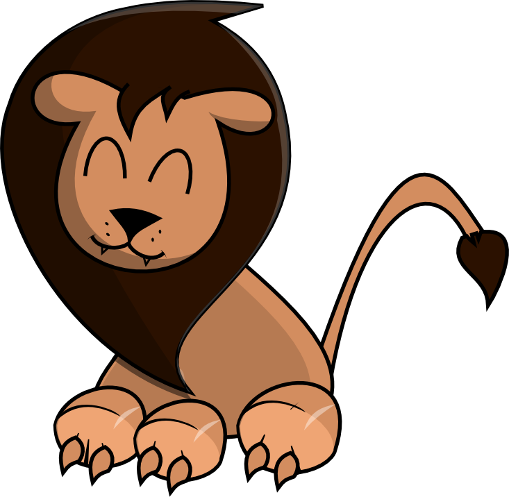 Proud clipart conceited. Fierce lion free download