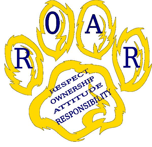 Wildcat paw golden clip. Cougar clipart roar