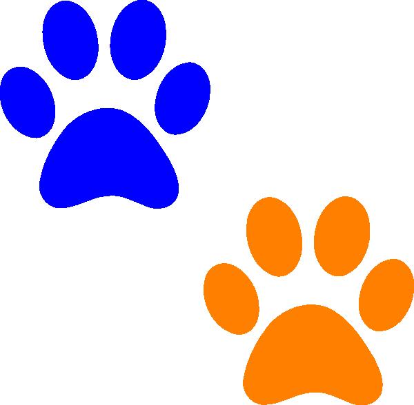 Cougar paw print clip. Pawprint clipart emoji