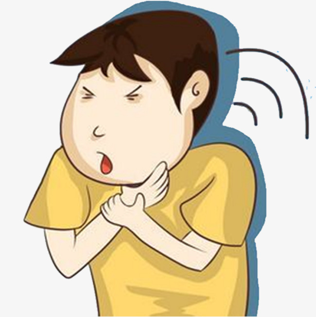 Throat sore voice png. Cough clipart