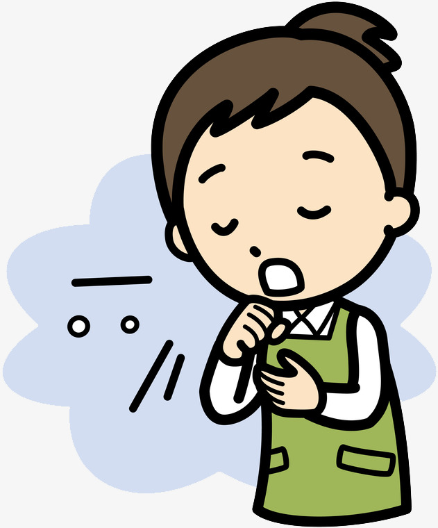 Throat bad voice cartoon. Cough clipart